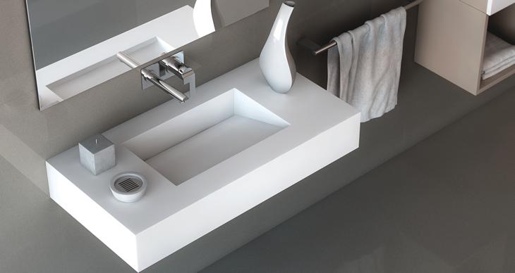 Quarzstein Waschtische
