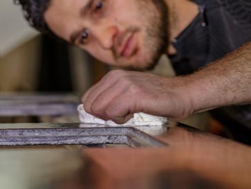 Arbeitsplatten nach Maß Oberflächenbearbeitung